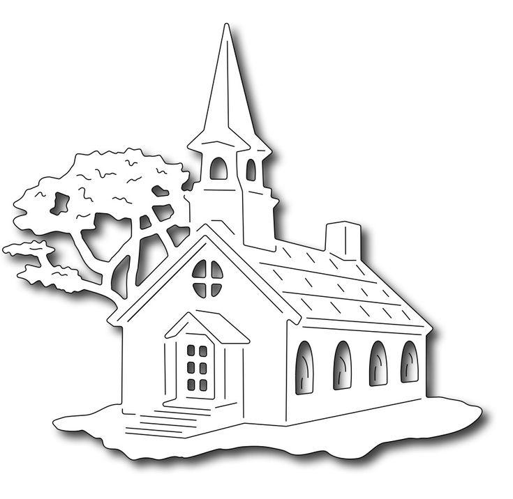 Frantic Stamper Precision Die - Large Church