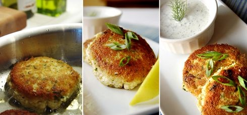 "F o r k i n g D e l i c i o u s !: Holy Crab Cakes! Hold the ""Krab,"" Please!"