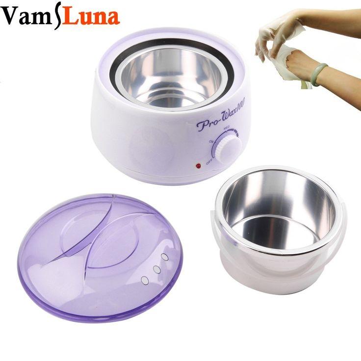 500ML Paraffin Waxing Heater & Wax Warmer Pot Hair Remover - Paraffin-wax Therapy Depilatory Salon Beauty Tool
