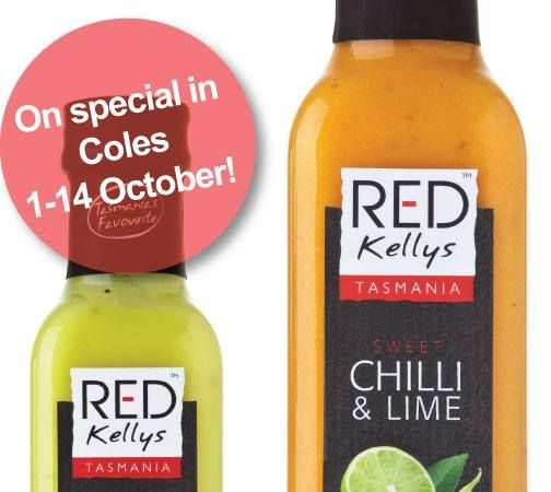 Happy October! To celebrate, Red Kellys Tasmania's dressings are on special in Coles between now and 14 October. If you're yet to taste one, now is your chance. Do you find food items taste better when they are discounted?!