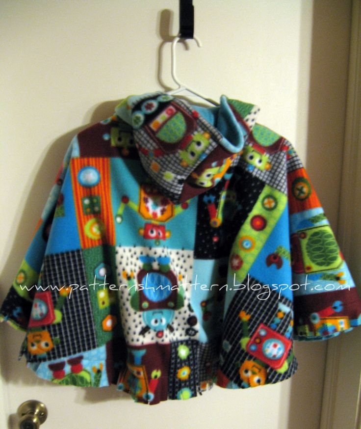 How to make the hood - TUTORIAL- kid's car seat poncho for winter safety in the car .  By patternshmattern