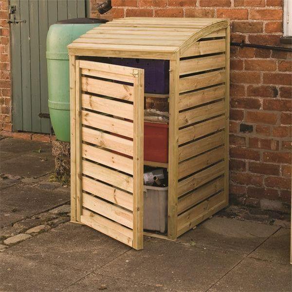 Recycling Box Storage Cover - Wheelie Bin Covers - Garden Storage