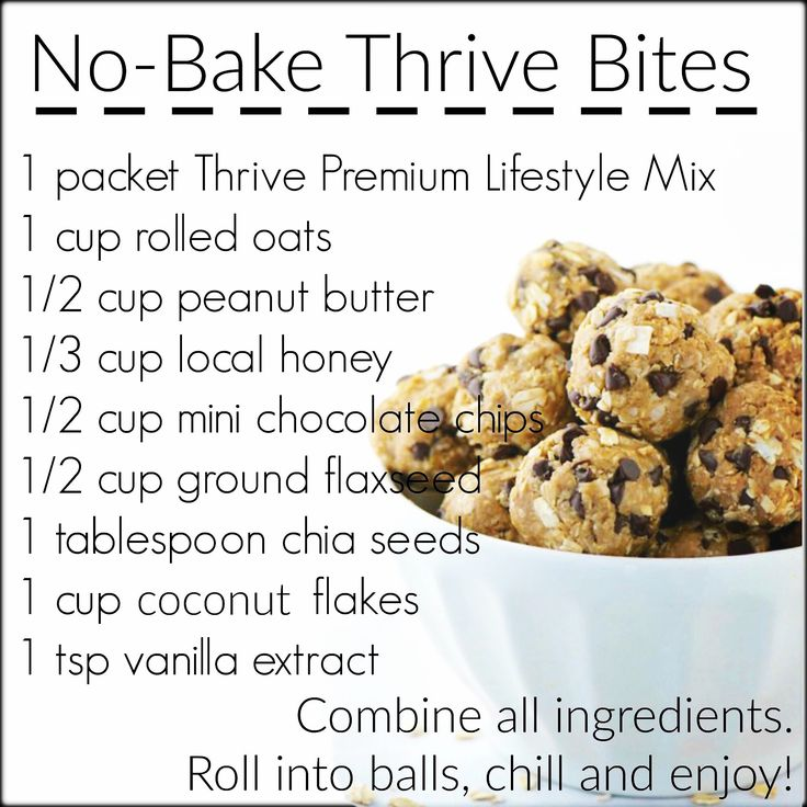 These are delish and so good for you! Www.thriveandshine.le-vel.com #energy #protein #snack #healthy #thrive