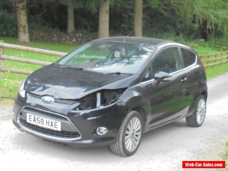 2008 ford fiesta MK7 titanium 3 door spares or repair damaged salvage #ford #titanium #forsale #unitedkingdom