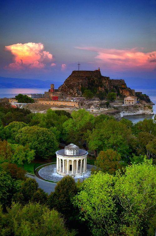 Sir Thomas Maitland, Corfu, Greece