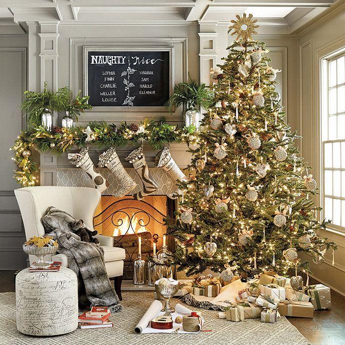 Venetian Tree Topper Ballard Designs In 2020 Gold Christmas Tree Christmas Living Rooms Christmas Home