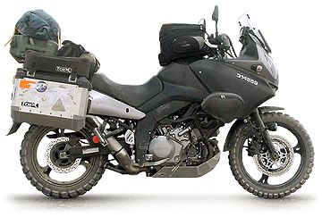 V-Strom 1000 setup for long distance touring