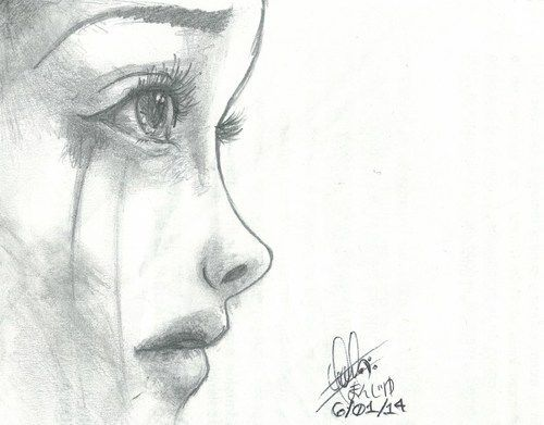 Ms de 25 ideas increbles sobre Dibujos tristes en Pinterest