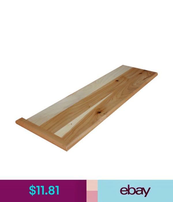 Best Building Hardware Carpet Grade Poplar Wood Stair Tread 400 x 300