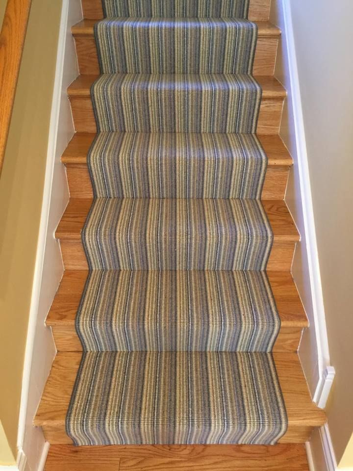 We had a wonderful time installing this beautiful, striped New Zealand wool carpet runner in an amazing 100 year old historic downtown Dundee, Illinois home. The transformation was certainly stunning!  http://whiteoakinteriors.com/  . . . . .  #whiteoakinteriors #runner #carpet #carpetrunner #stairs #staircase #floors #wool #woolcarpet #historic #dundee #remodel #remodeling #renovate #renovation #chicago #chicagodesign