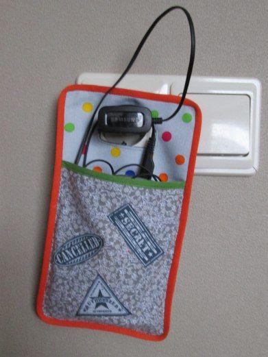 Hoesje telefoonoplader