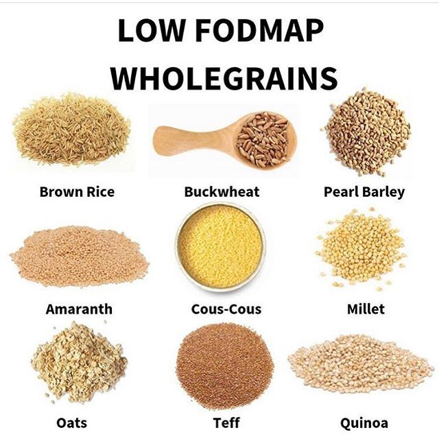 grains on low fodmap diet