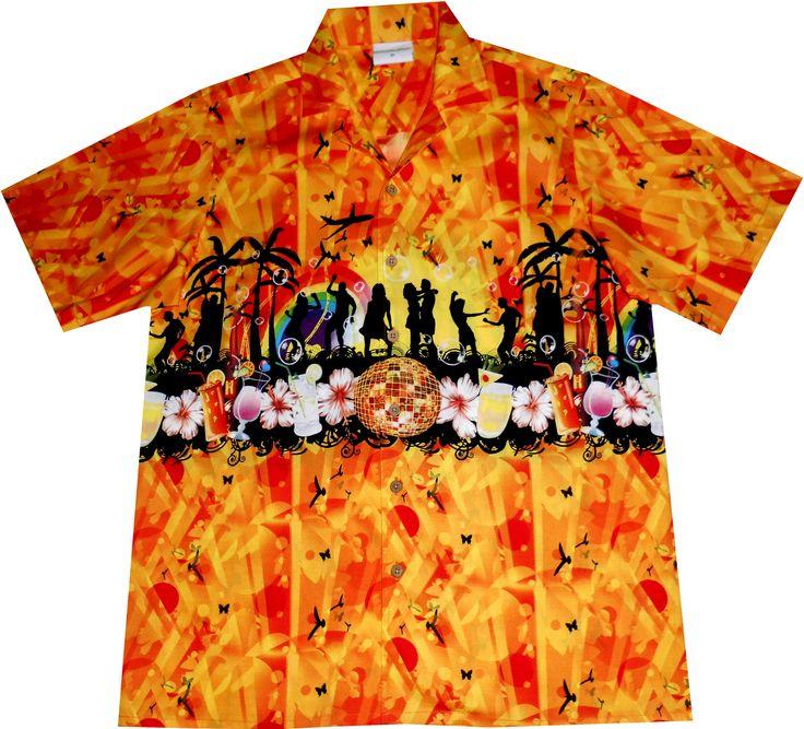 "Hawaiihemd ""Summer Party""  mehr unter www.hawaiihemdshop.de"