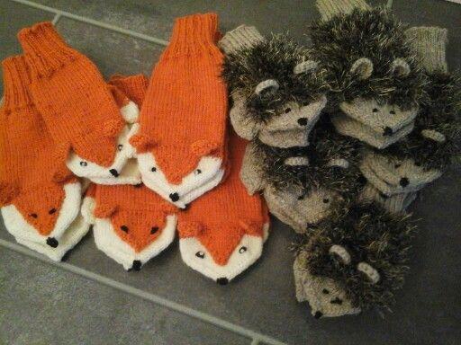 My handycrafts in this year..mittens