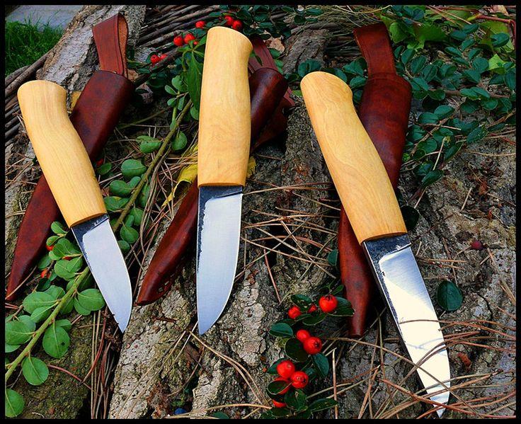 hand made knifes/ egyedi kések by angelero manufacturing