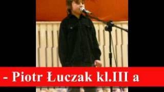 """Gminny Konkurs Recytatorski """"Poetyckie Barwy Jesieni"""" w Kaźmierzu w roku szkolnym 2010/11"""