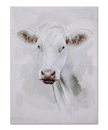 The Cow On This Wrapped Canvas Is Beautiful! Available At Zulily. Farmhouse Home  Decor