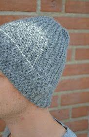 Luft under vingerne: Nem strikket hue - med lille DIY