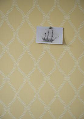Wallpaper - Farrow & Ball - Prim and Proper - Crivelli Trellis - Paint & Paper Ltd #Interior #Design #Home #Decor