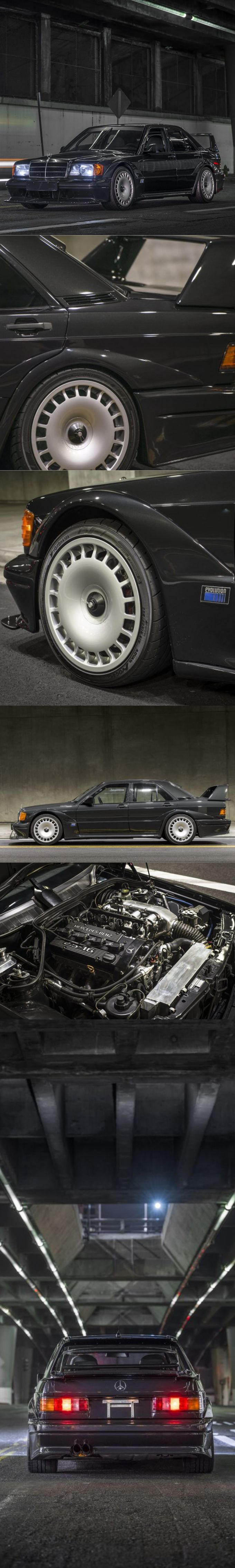 1990 Mercedes-Benz 190E 2.5-16 Evo 2 /  Germany / black /