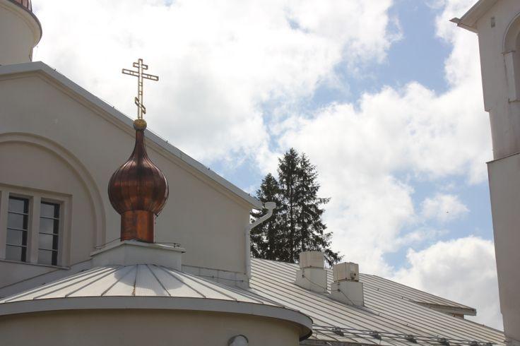 Valamon luostarin rauhallinen tunnelma on omiaan luomaan hyvää työskentelyilmapiiriä. Heinävesi 4.6.2014