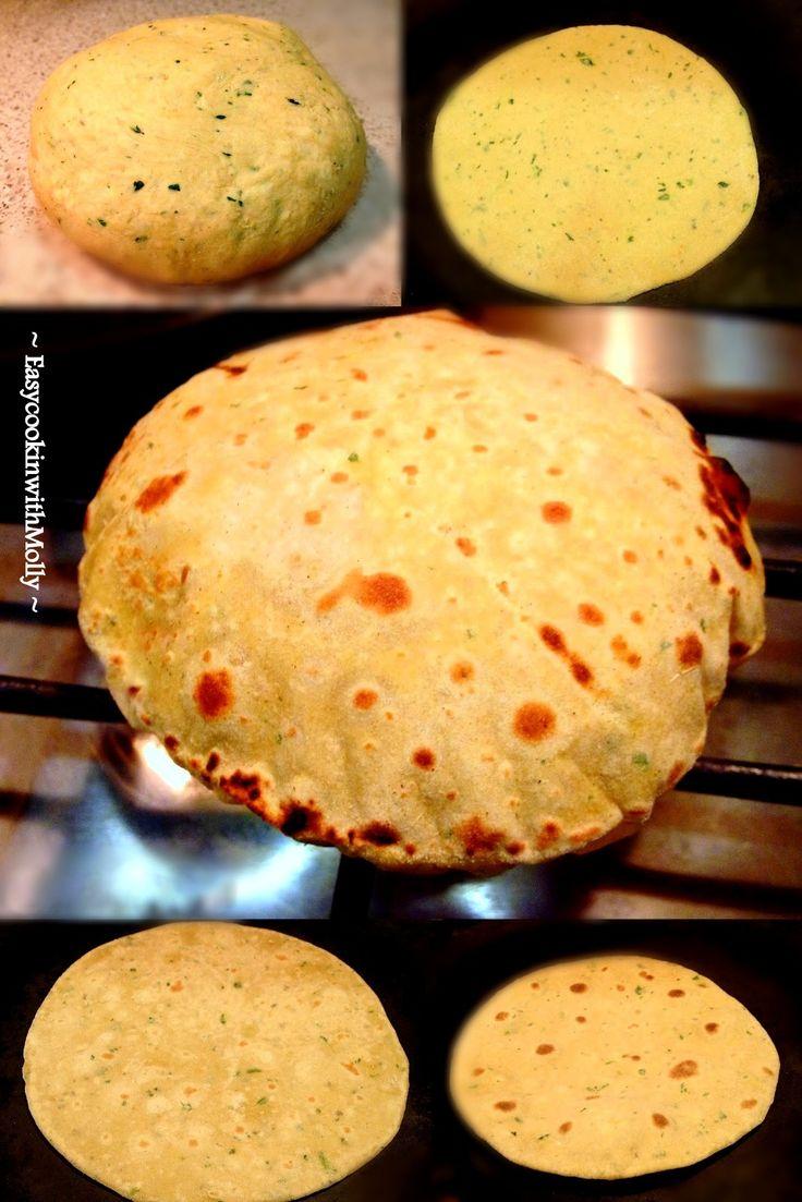 Gram flour flatbread