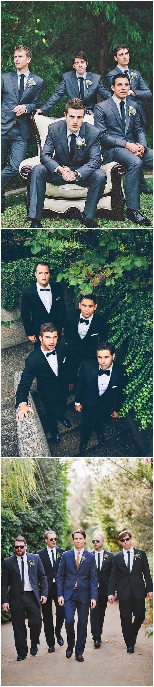 Creative Wedding Poses for Groomsmen /   http://www.himisspuff.com/groomsmen-wedding-photo-ideas/