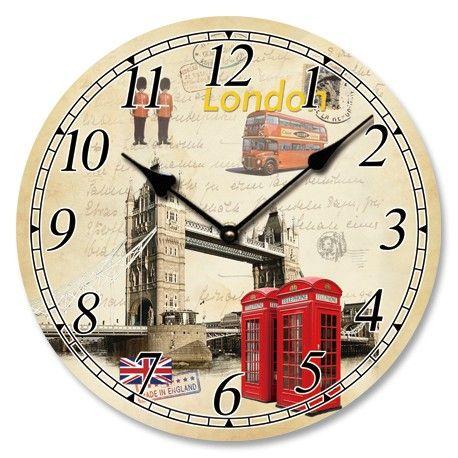 #COMBI OEM #London ΞΥΛΙΝΟ ΡΟΛΟΙ ΤΟΙΧΟΥ 33cm
