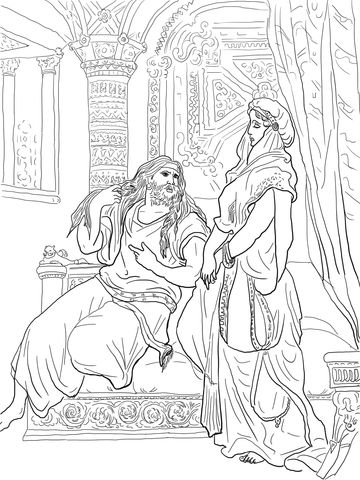 printable samson and delilah coloring pages | 10 best Samson images on Pinterest | Sunday school, Sunday ...