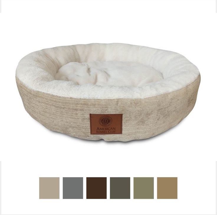 American Kennel Club Casablanca Round Pet Bed is a soft, round-shaped pet bed that's the perfect size for small dogs. Made with Casablanca fabric and a soft sleep surface, this bed can be placed in your pet's favorite spot to give him a comfortable place to rest, relax or chew. Just machine wash and tumble dry and it's good as new again.