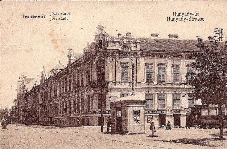 Timisoara - 1895 - Strada Huniade , actuala Piaţa Maria