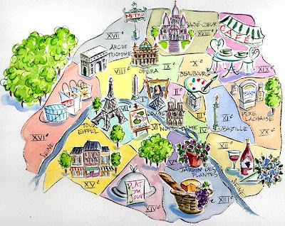 Another great Paris map.
