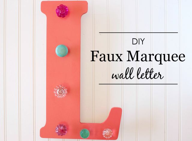 diy marquee letters diy faux marquee wall letter project nursery children 21387