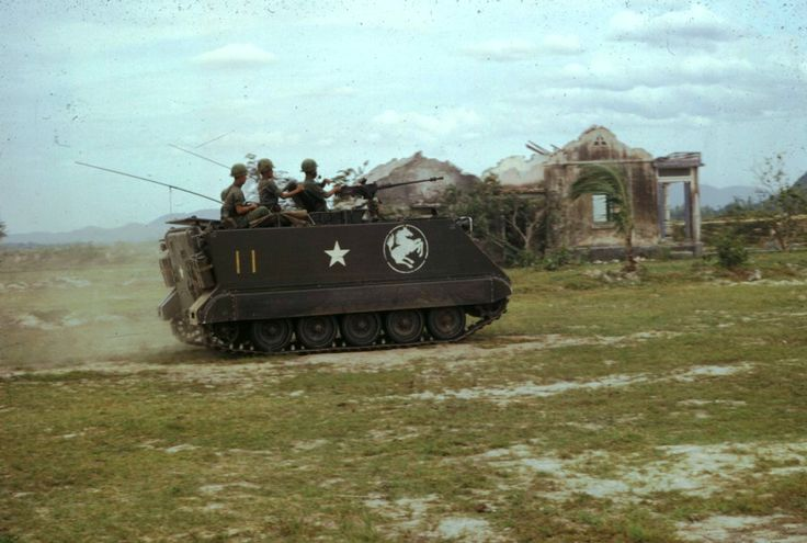 M113 APC of the Republic of Korea Army's 9th Infantry Division (aka White Horse).