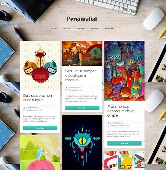 Personalist Grid Based Blogger Template  http://blogtemplate4u.com/2014/08/personalist-grid-based-blogger-template/