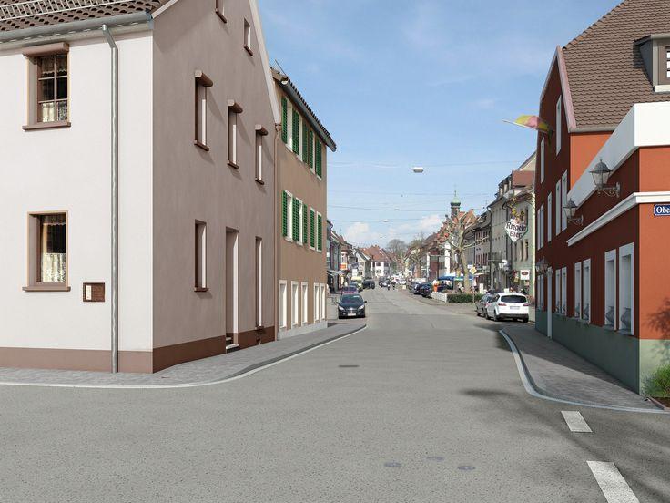 Elegant D Visualisierung Stra enbau von LInkD Freiburg