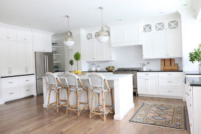 7 best images about kitchen on pinterest farmhouse for Best benjamin moore white for kitchen cabinets
