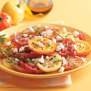 Gourmet Garden Tomato Salad Recipe from Taste of Home