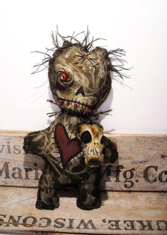 Handmade Voodoo Doll Voodoo Justify by JunkerJane