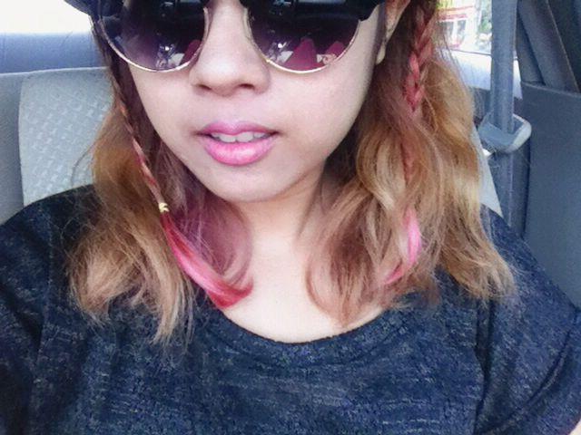 April 7th '15. pink hilights