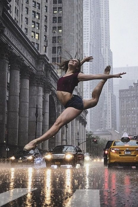Dancer in NYC by Omar Robles