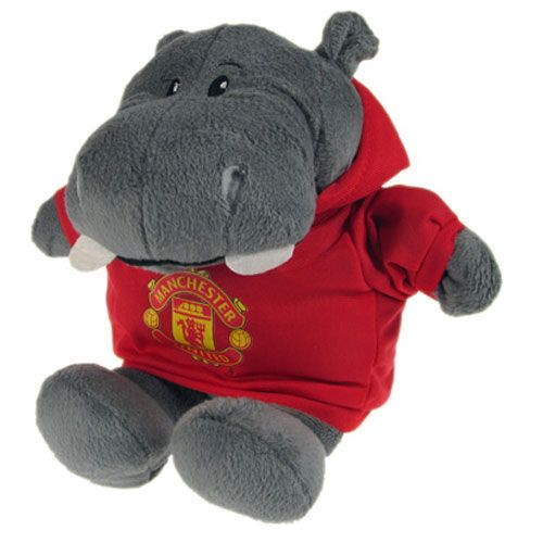 Personalised Manchester United Hooded Hippo