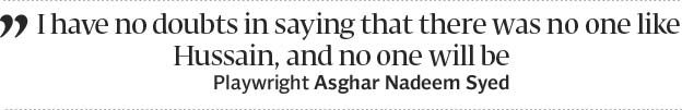 Intizar Hussain  the seller of dreams - The Express Tribune