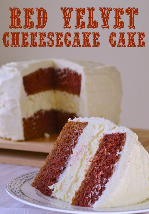 Decadent Red Velvet Cheesecake Cake Recipe! The perfect holiday dessert!