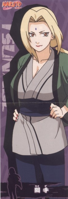 Lady Tsunade! One of my favorite characters.