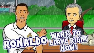 RONALDO to MAN UTD?! (CR7 wants to leave Real Madrid Right Now – Trans…