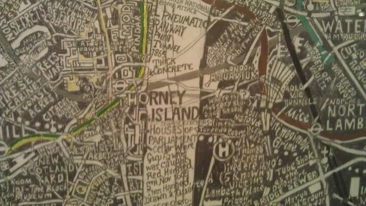 Small piece of London subterranea by Stephen Walter