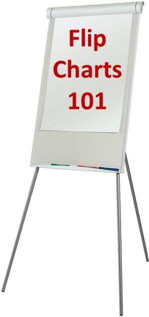 Flip Charts 101: Basic Tips to Use This Lonely Versatile Tool, by @Andrew Dlugan