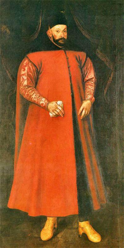Portret Stefana Batorego, Marcin Kober, 1583r.