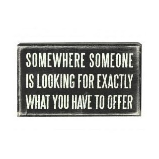 somewhere someone